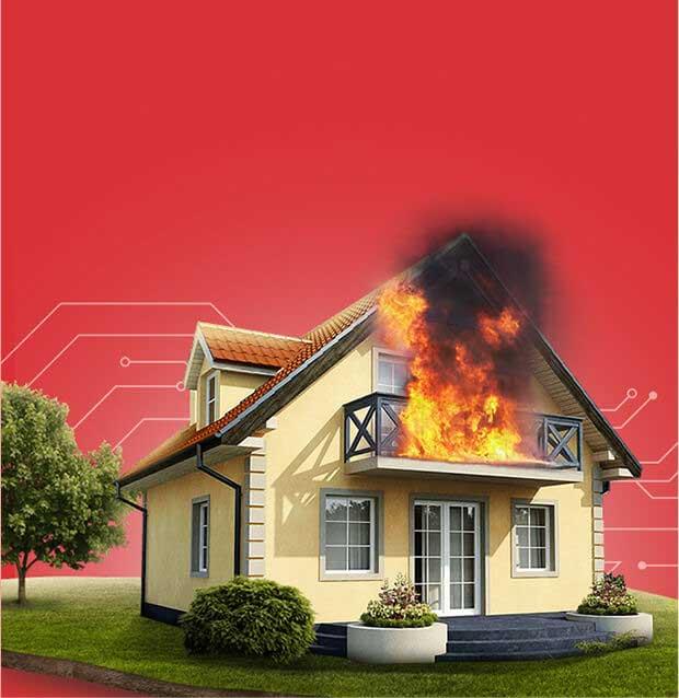صدور آنلاین بیمه آتش سوزی و سرقت منازل
